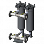 MAAG | Dual Canister Filter System for process water